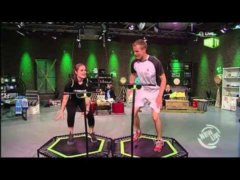 Schüttel deinen Speck! Jumping Fitness bei NRW Live.