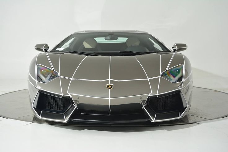 TronInspired Chrome Lamborghini Aventador is On Sale
