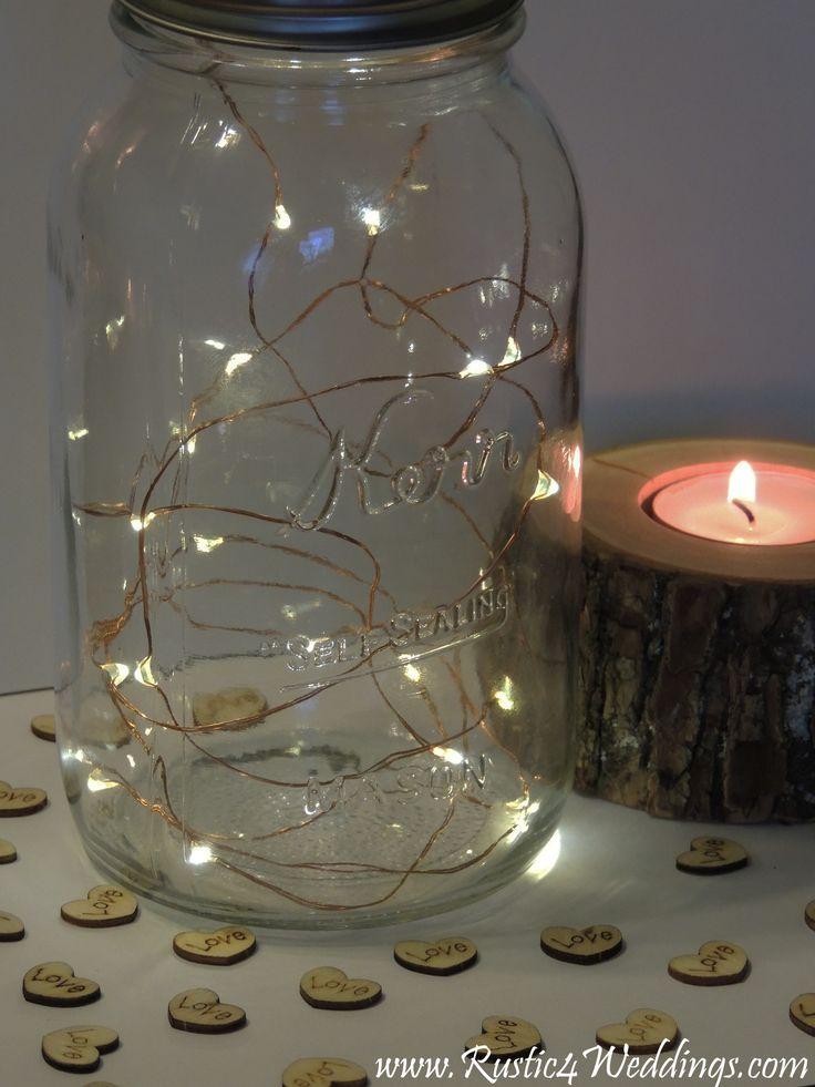 Ideas about rustic lantern centerpieces on pinterest