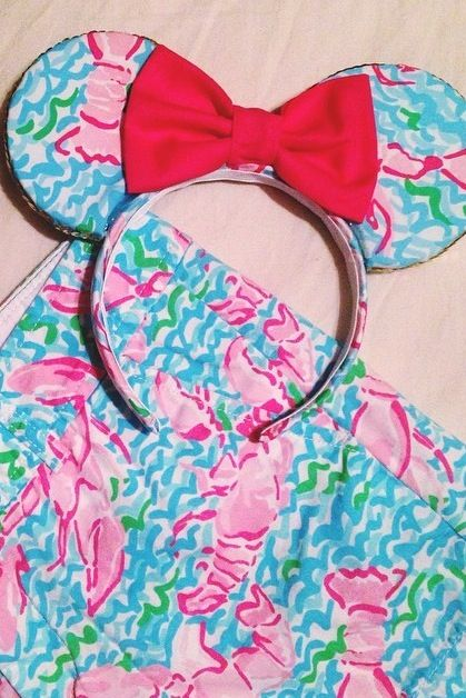 Lilly Pulitzer Minnie Mouse Ears