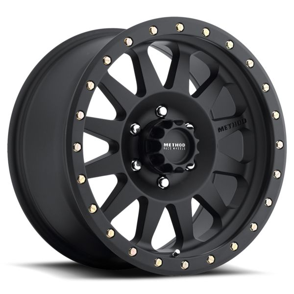 "Method Racing Wheels - Double Standard Matte Black 17"" or 16"""