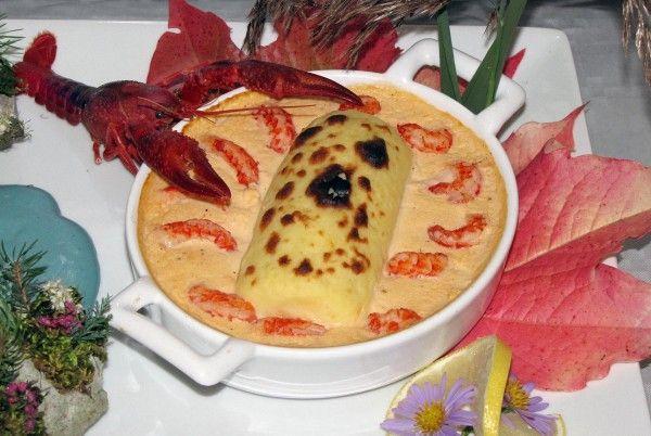 #Lyon #France #Quenelle #Nantua sauce true #recipe  http://www.lyon-saveurs.fr/?p=8958#