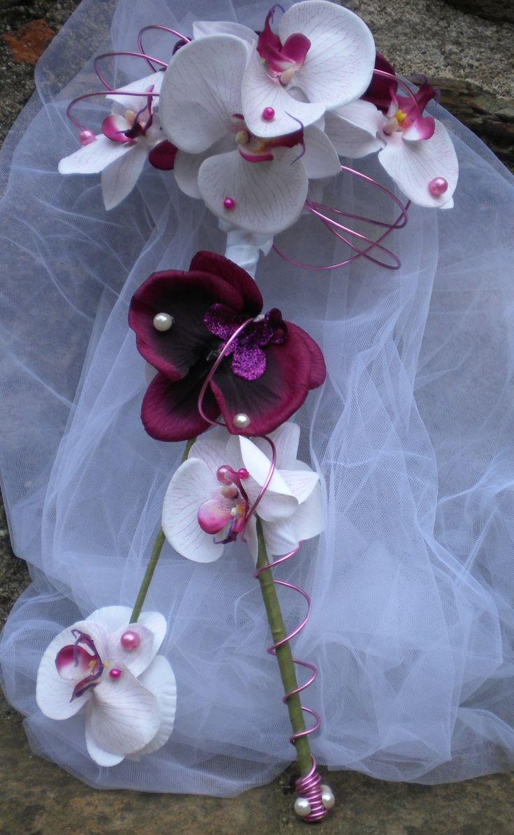 1000 Bouquets D 39 Orchid Es De Mari E Sur Pinterest Bouquets De Marriage Bouquets Et Mari E