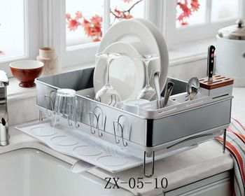 2013 Dsigner Stainless Steel kitchen Dish Drainer(factory in Guangzhou)