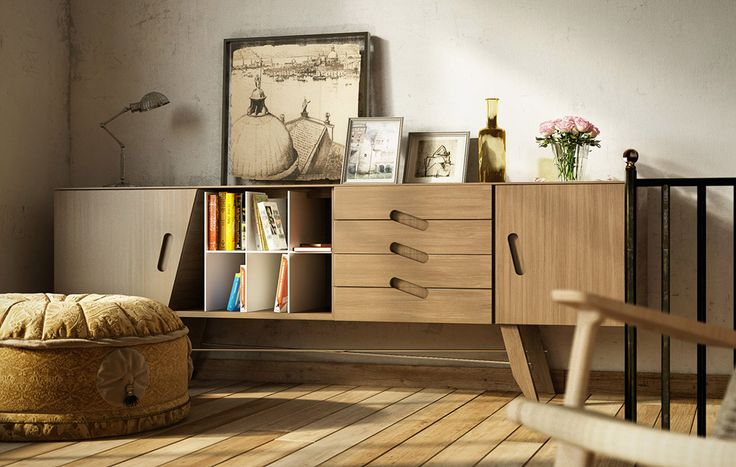 Free Venice Loft's Dresser by Patric Verstraete - 3D Architectural Visualization & Rendering Blog