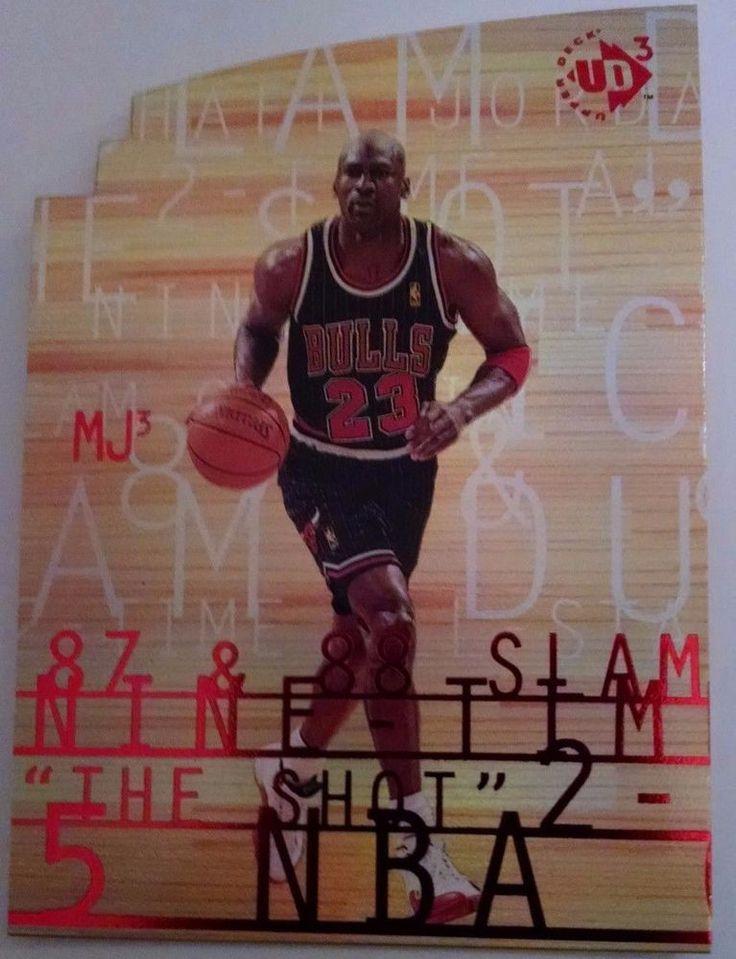 1997-98 UD3 MJ3 #MJ31 Michael Jordan Team: Chicago Bulls #ChicagoBulls
