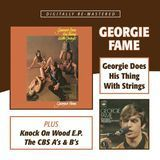Georgie Does His Thing With Strings / Knock On Wood E.P. / The CBS A's & B's [CD]
