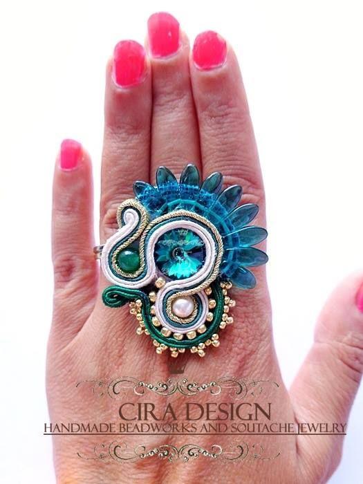 Soutache ring by Cira Design - SOUTACHE 2013