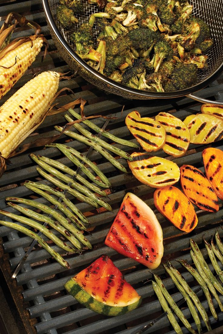 20 Ways to Grill Fruits & Veggies