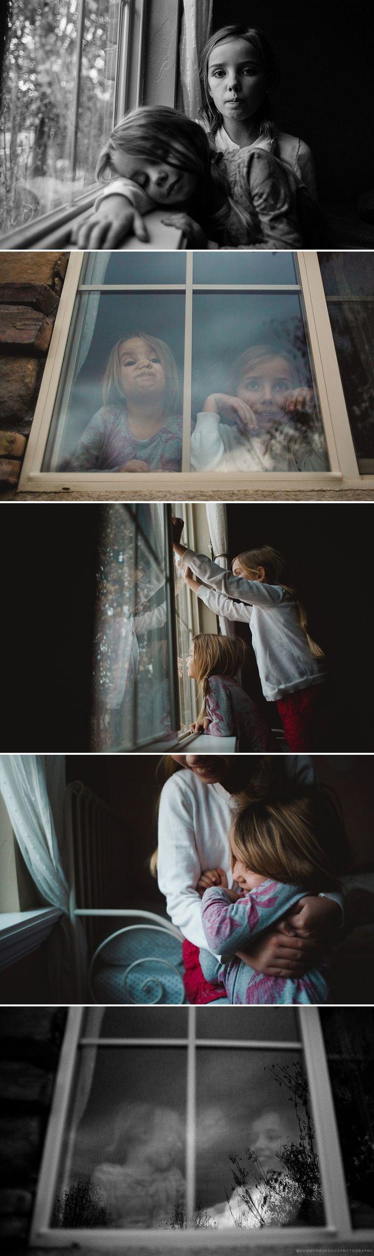 © Summer Murdock Utah Family Photographer Window light