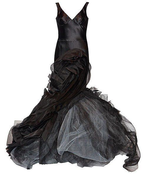 Vera Wong`s Black Dress