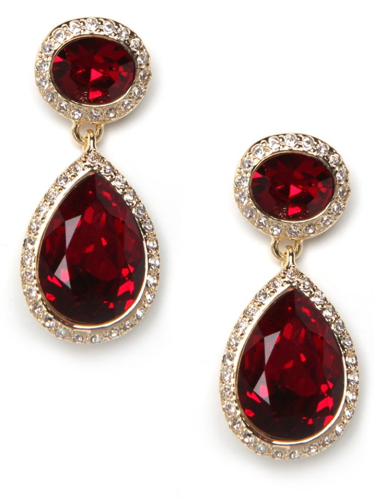"""Queen Ruby"" Earrings. #baublebar $175 ($10 off first purchase)"