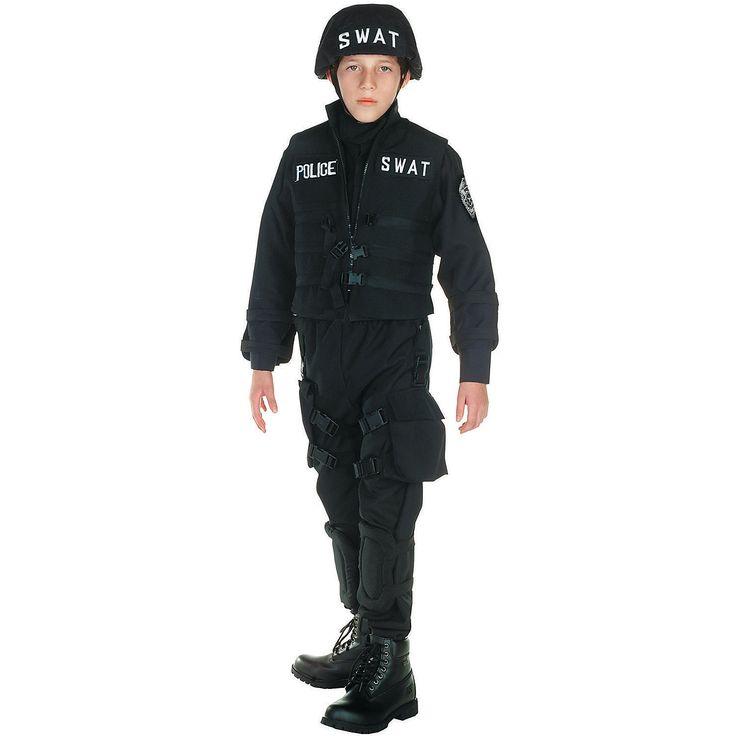 SWAT+Costume+For+Boys+-+OrientalTrading.com