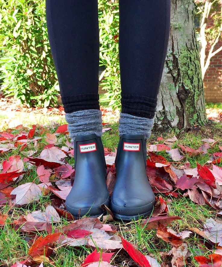 Love the Hunter ankle boots!