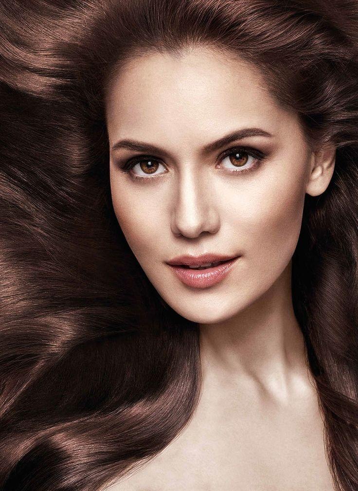 Turkish actress Fahriye Evcen | Actresses | Pinterest ...