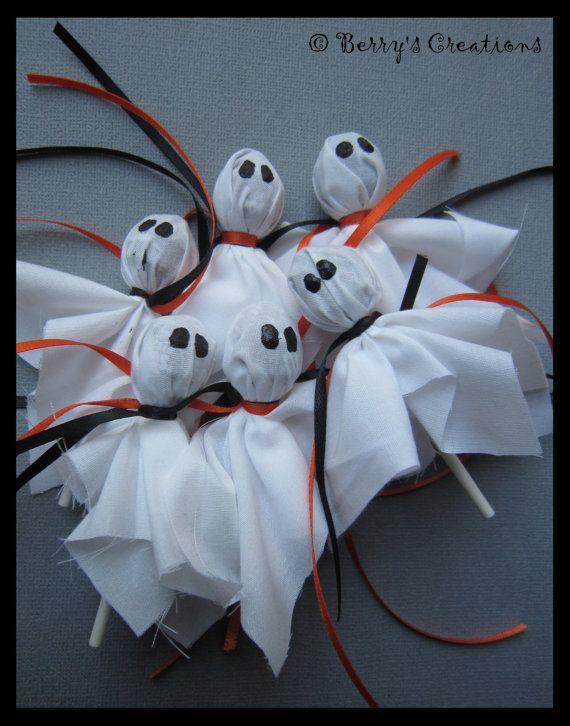 Adorable Cute Halloween Ghost Lollipops 40 piece