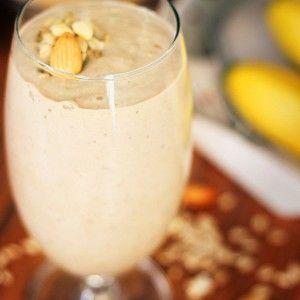 Бананово-овсяный смузи