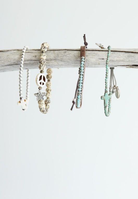Lovely bracelets.