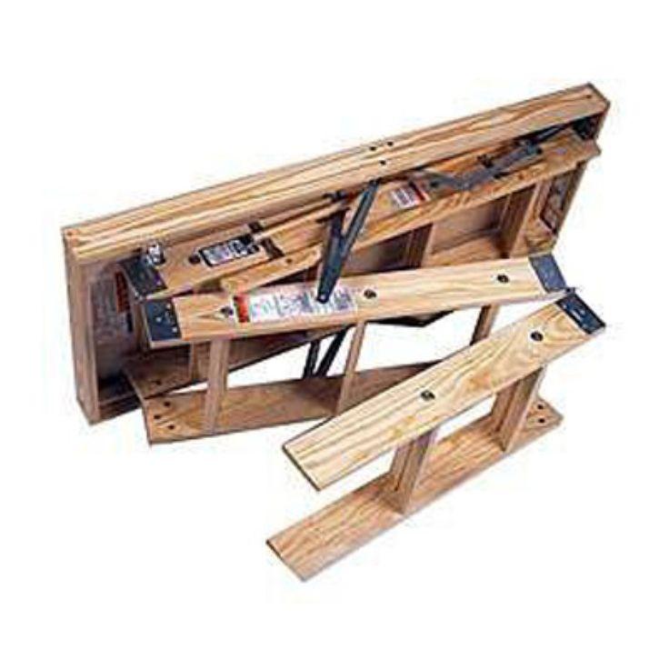 Werner Heavy Duty Wooden Access Ladder - 3720-26