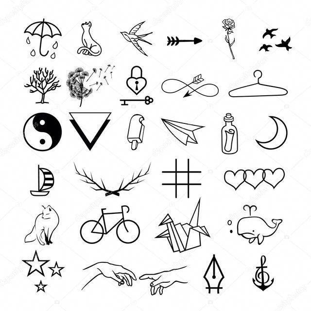 minimalistische Tattoos #Minimalisttattoos – Persönliche Tattoos #Tattoos #Ale