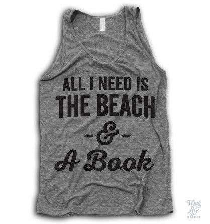 all i need is the beach and a book