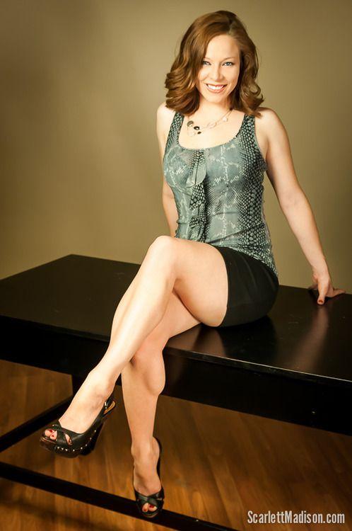 Scarlett Madison CALVES | Calves | Abs women, Stomach ...