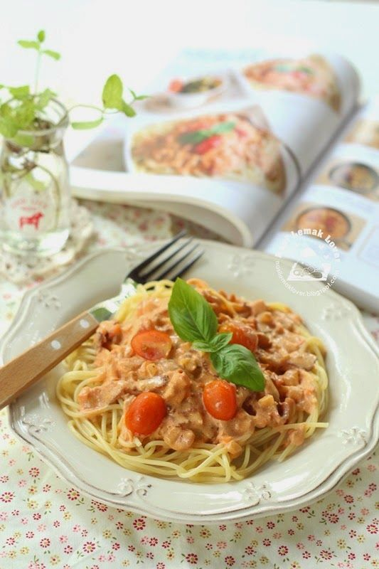 Nasi Lemak Lover: Rose Sauce and Bacon Spaghetti 培根薔薇醬義大利麵