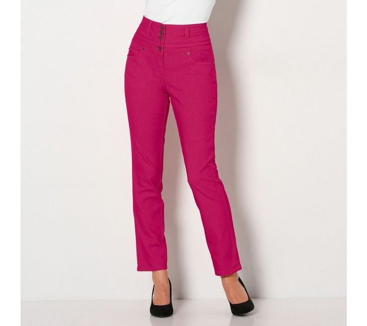 Bootcut nohavice s vysokým pásom, nízka postava | blancheporte.sk #blancheporte #blancheporteSK #blancheporte_sk #autumn #fall #jesen #nohavice