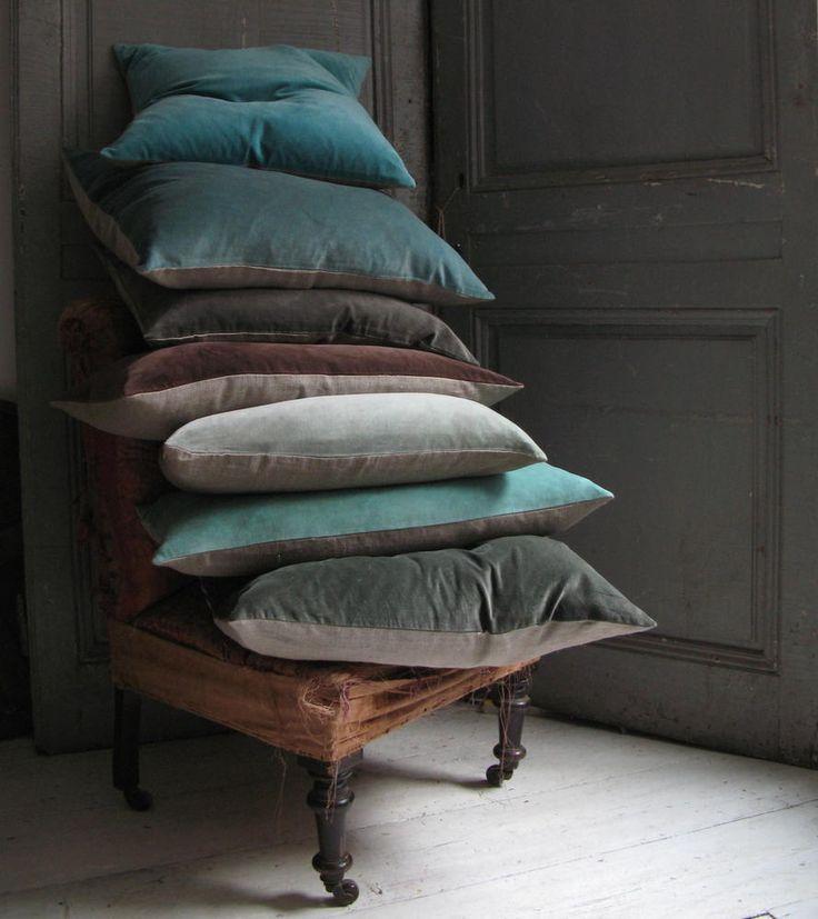 Pillow covers by Kirsten Hecktermann