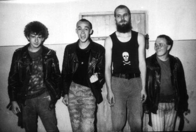 Siekiera Polish Punk Band '80