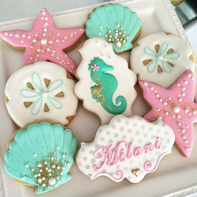 Under the sea cookie favors