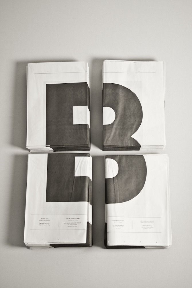 WAAITT: Bremen Paper-This could be a way for me to present posters for my end of year exhibition.