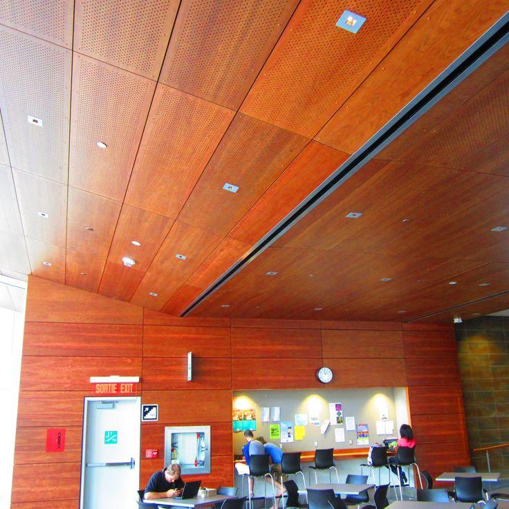 Project: Univ of Ottawa, Vanier Building Location: Ottawa, ON Product: Parklex Facade: Perforated Cherry Architrect: Diamond Schmitt