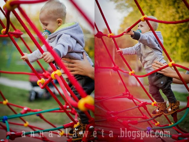 Karol from annaslaweta.blogspot.com wears our #giraffe #Emu #boots. Perfect style on the #playground!  #children #fun #riccardo