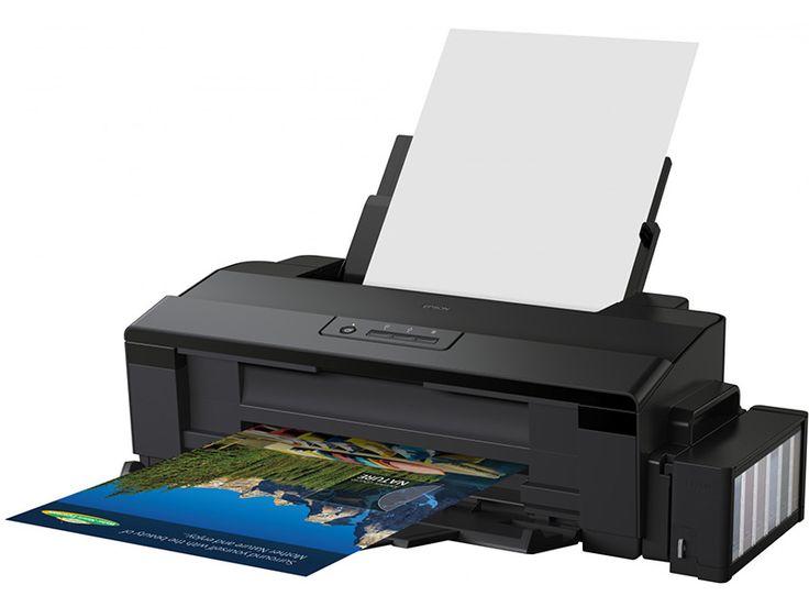 Impresora Epson EcoTank L1300 - Sistema de tinta continuo - USB - A3