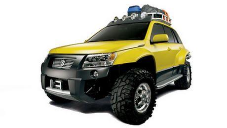 2006 Suzuki Grand Vitara quot Dune quot Concept: Off-Road.com