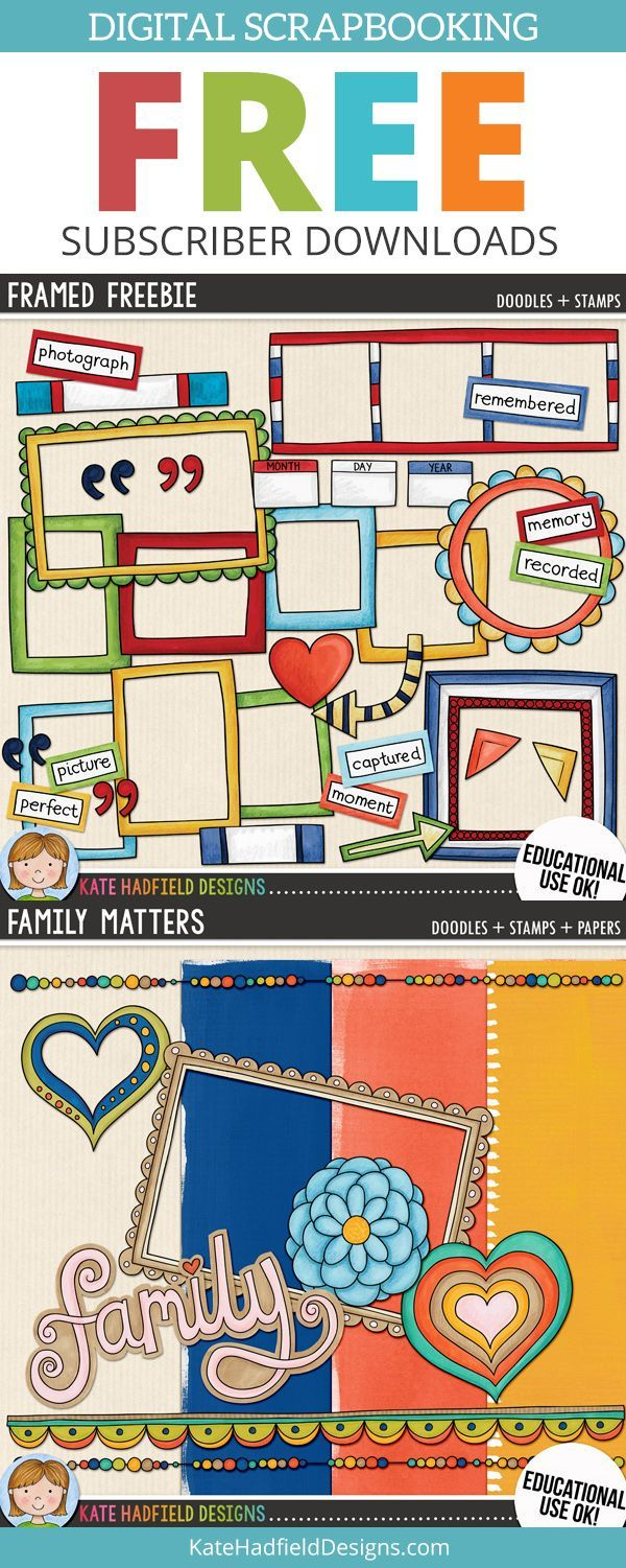 Digital scrapbooking kits free all about scrapbooking ideas - Digital Scrapbooking Freebies