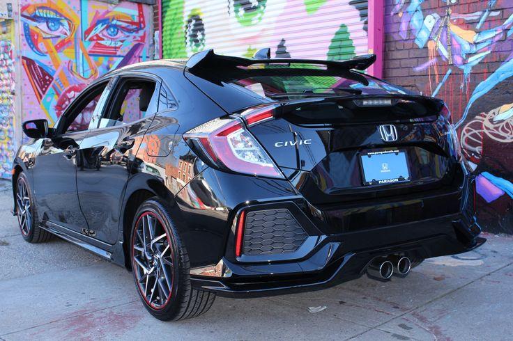 Brand new custom 2017 Honda Civic Hatchback at Paragon Honda.