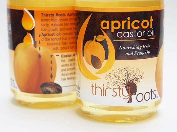 Benefits of Apricot Castor Oil for hair | Thirsty Roots Store