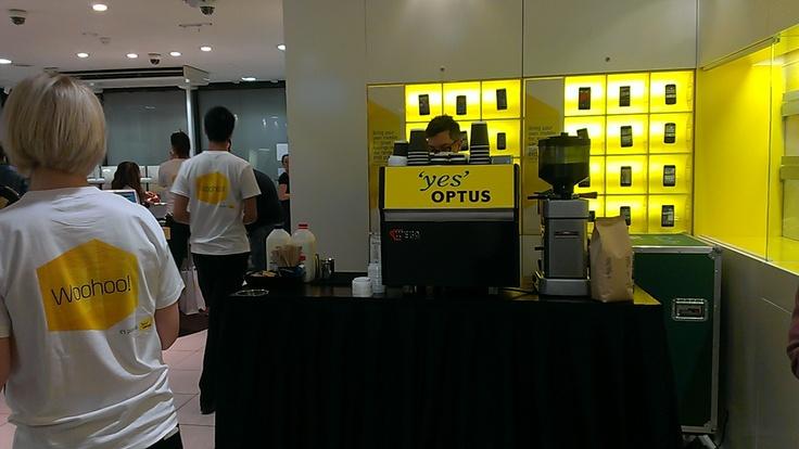 Customer priority pick up event. Sydney September 2012