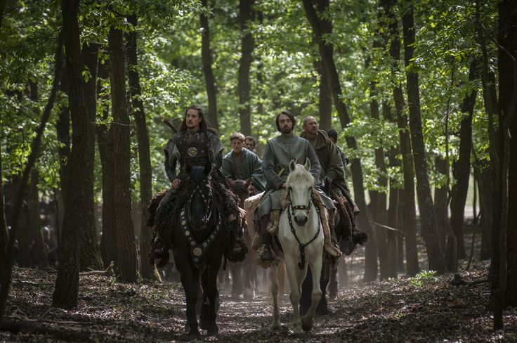 The Last Kingdom - Uhtred and king Alfred