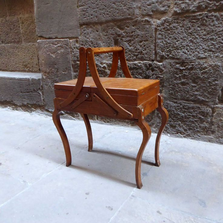 costurero vintage patas madera mementosbcn tienda online