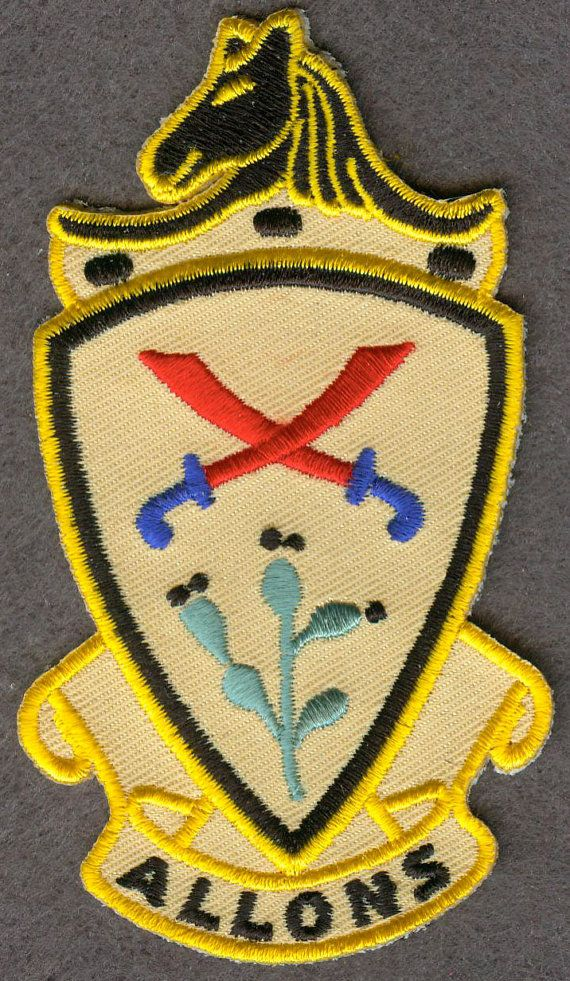 US Army 11th Cavalry Regiment Pocket EMBROIDERY PATCH