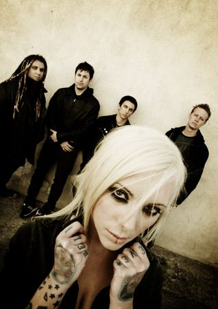 In This Moment.....love this band! Maria Brink is in my opinion the baddest chick in metal