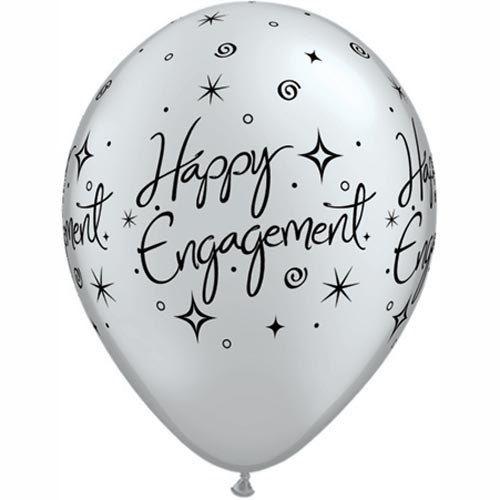 Engagement Balloons  bridal Shower Decor  Party Decor  Wedding Balloons  Bachelorette  Diamond Balloon  bride to be  groomsmen  gift