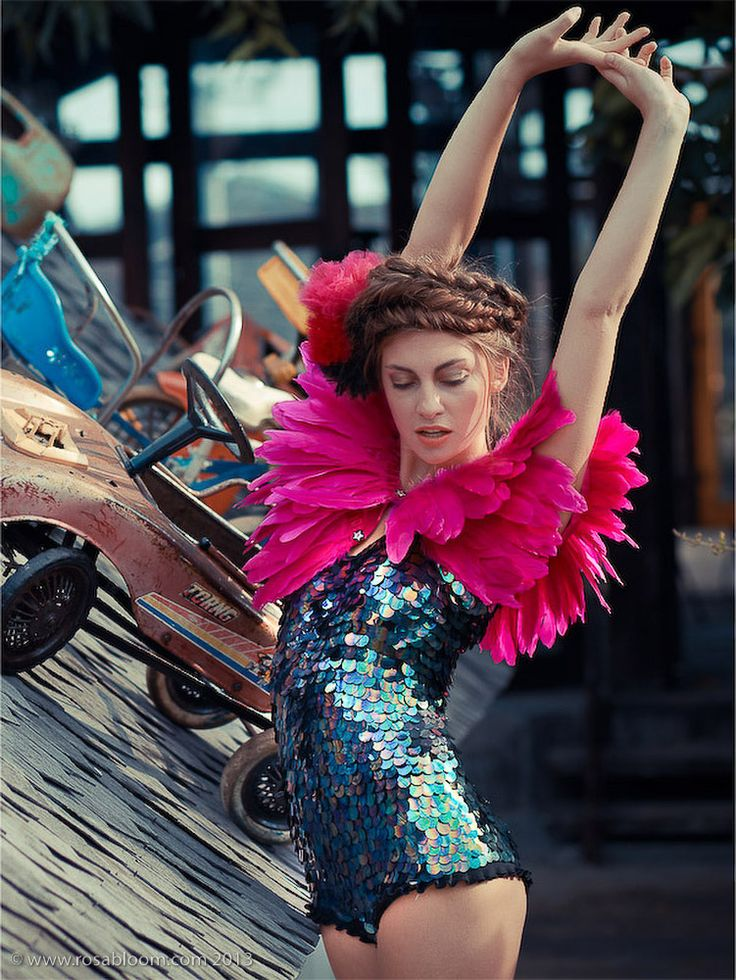 'Sea Circus' Sequin Playsuit | Rosa Bloom