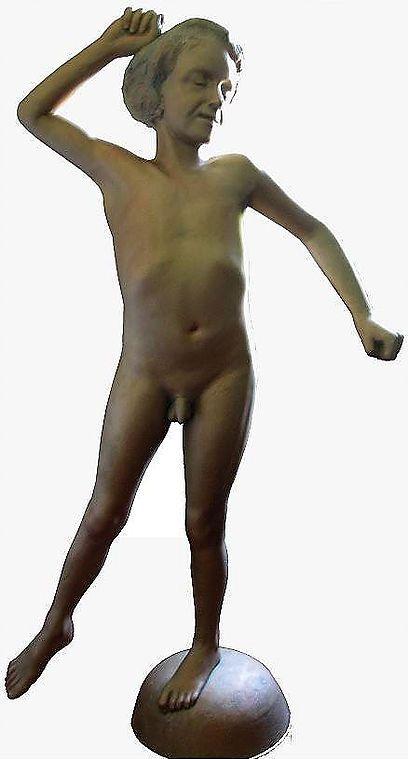 Sculpture, Faitage de maison, Bronze, Atelier de sculpture Romel