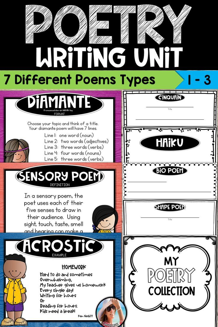 If You Are Looking For A Resource To Help You Teach Your Student To Write Poetry This Is It This Super Helpful Writing Units Writing Poetry Teaching Writing [ 1104 x 736 Pixel ]