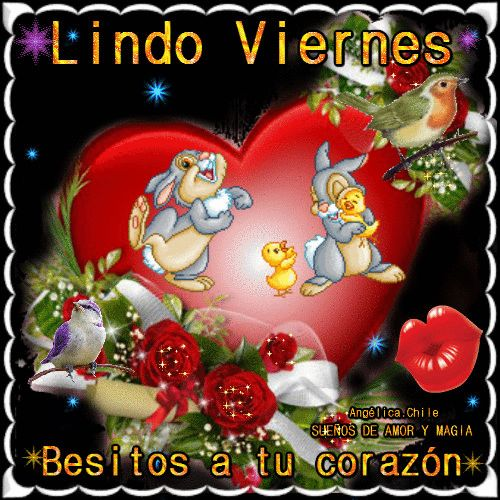 Suenos De Amor Y Magia Viernes Lilo Good Morning Gif Good