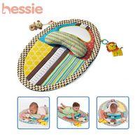 Multifunctionele baby speelmat baby speelgoed onderwijs leren& baby speelmatten aankleedkussen met opgezette dieren, kussen, veiligheid spiegel